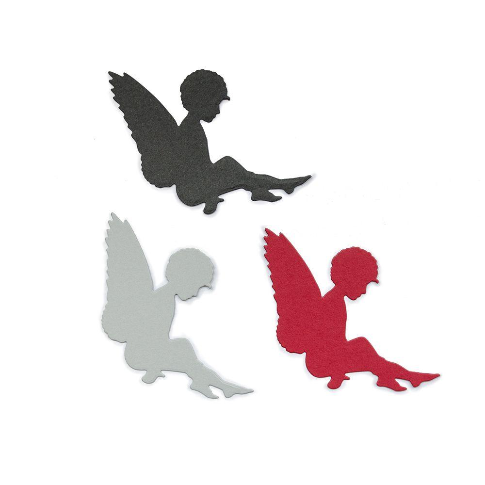 Die 'Sitzender Engel' Ausmalbilder Engel basteln