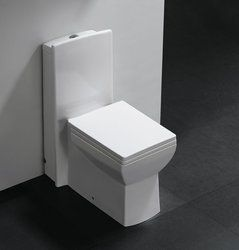 Peaked Square Like One Piece Bathroom Toilet Design Will Provide Contemporary Functionality And Introduce Beauty Bold To Any Modern Decor