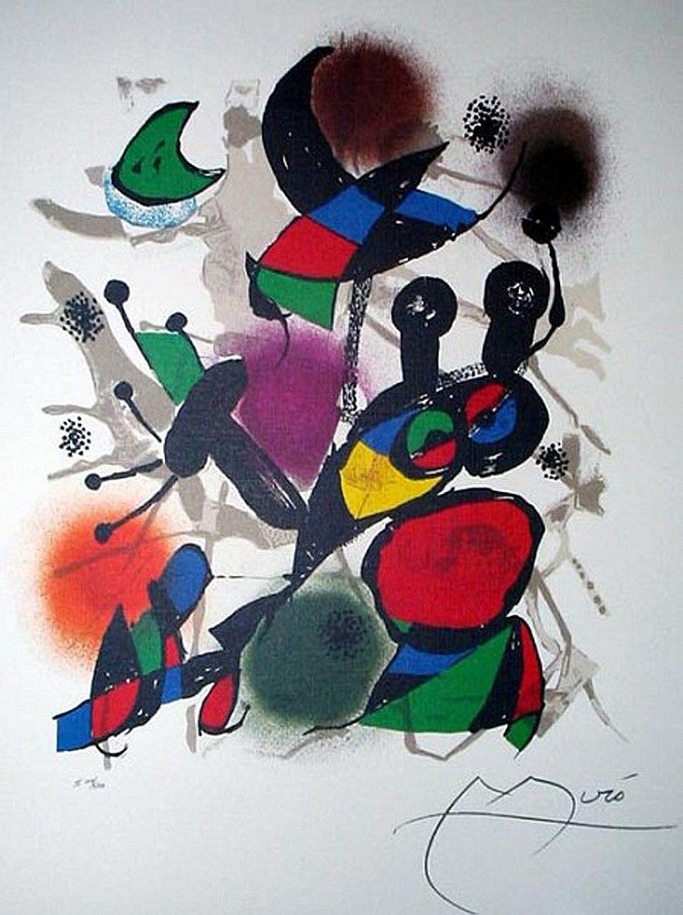 JOAN MIRO (After) Volume III Print, 326 of 500