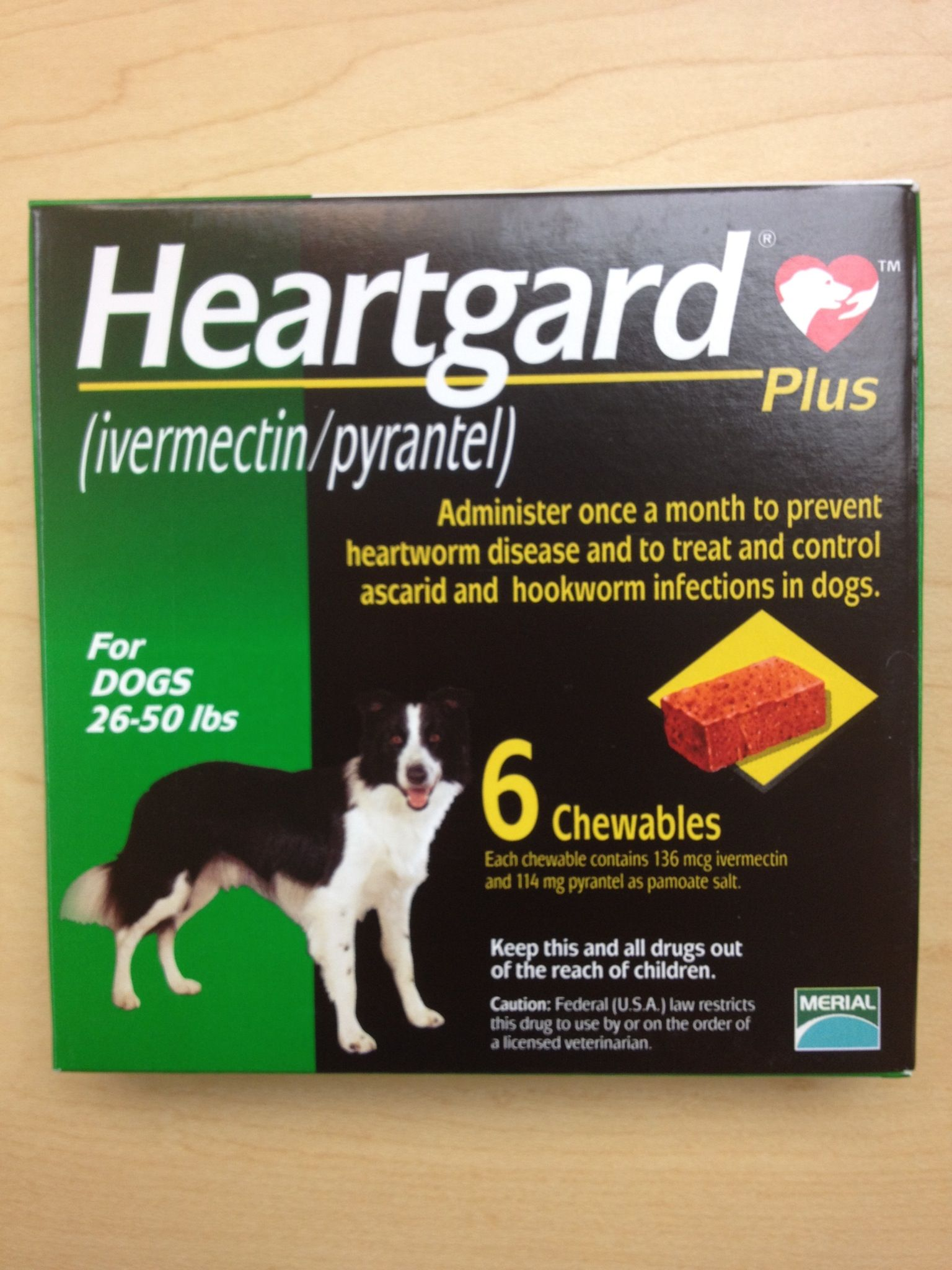 Heartgard can be used for dogs and cats, as well as