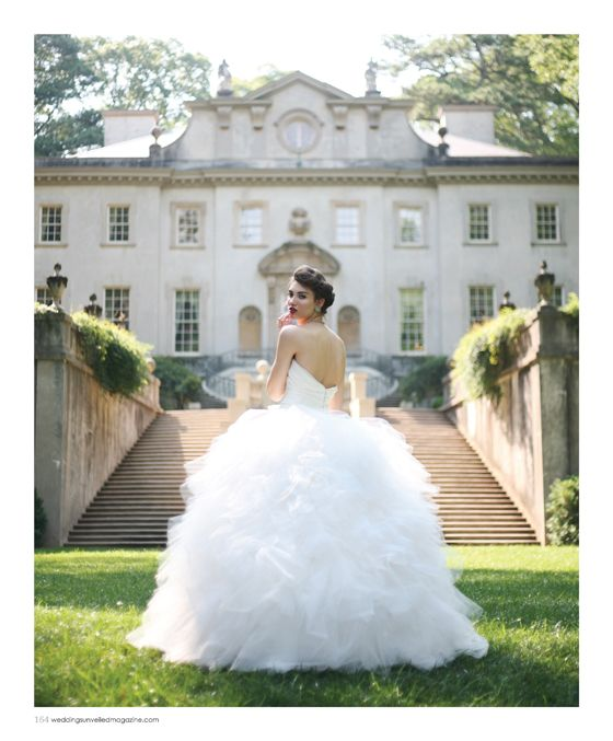Given the backdrop, I\'ll wear the dress. That\'s amazing!! Swan House ...
