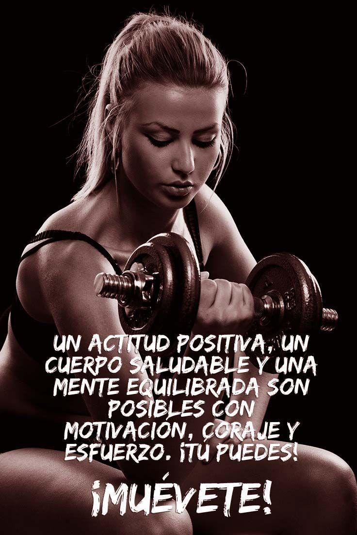 Frases motivadoras para el gym mujeres