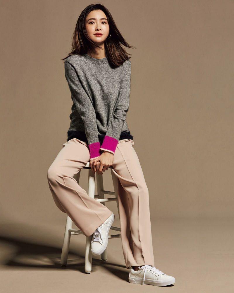 韓国の20代30代秋の服装】流行りのレディースファッションコーデ