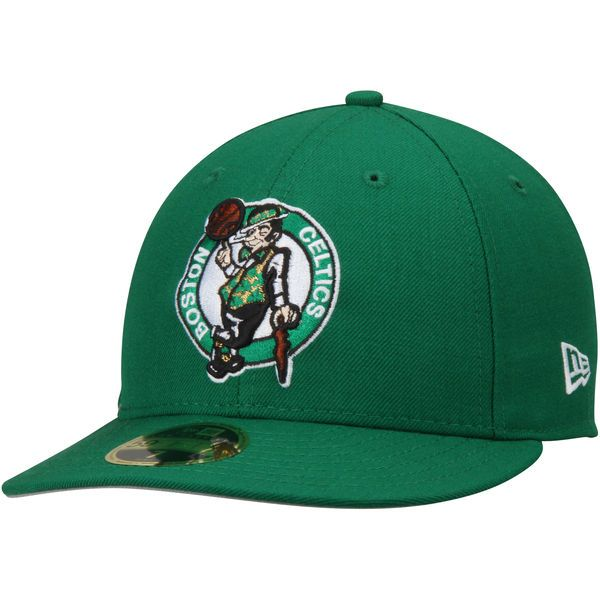 Men s Boston Celtics New Era Green Official Team Color Low Profile 59FIFTY  Fitted Hat 699a32c65