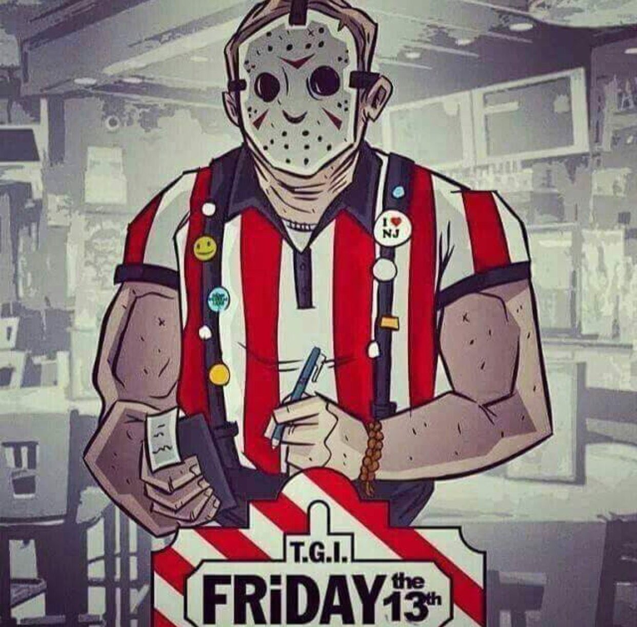 Pin on Jason Voorhees/ Friday the 13th