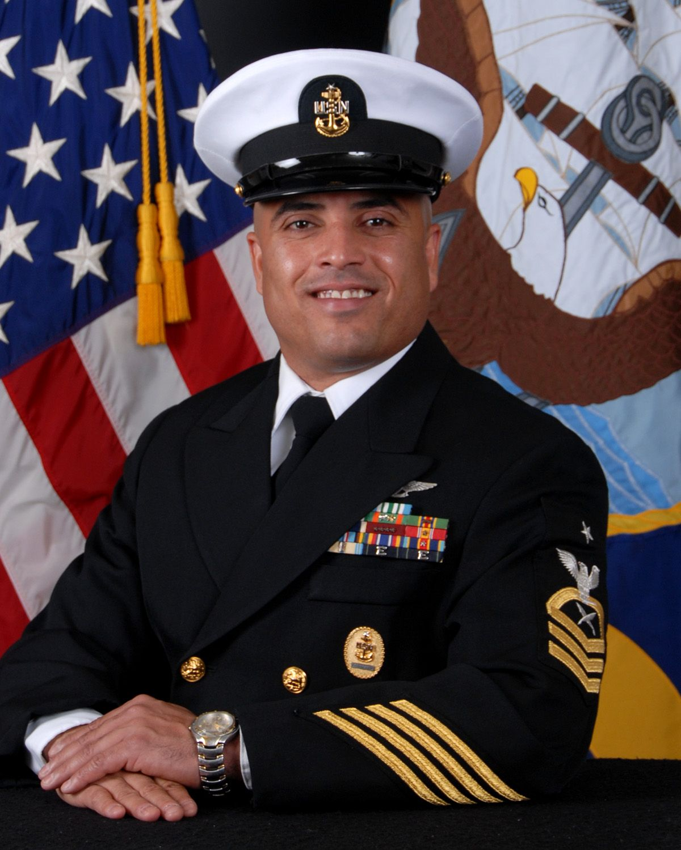 Senior Chief Petty Officer Raymond Alvarez Is A Command