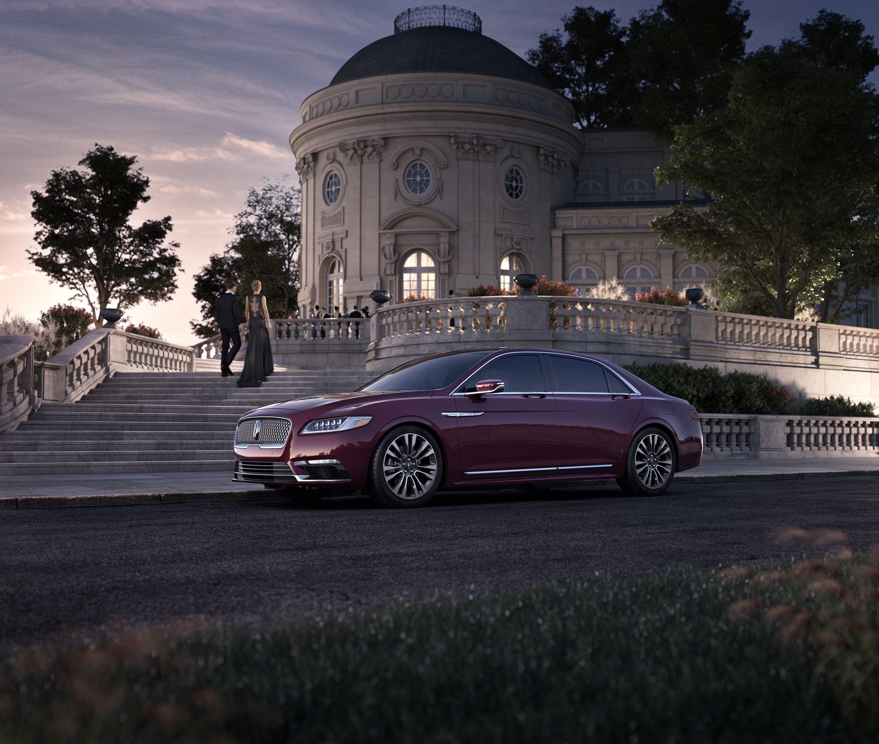 There's a difference between arriving and making an entrance. This is the 2017 Continental. #HowContinental