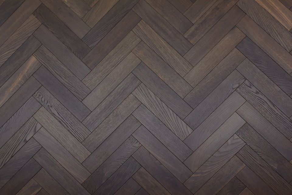 Another engineered herringbone parquet developed by Unique Bespoke Wood.