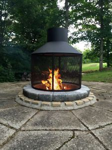 Foyer Exterieur Granby Quebec Image 2 Camping Fire Pit Fire Pit Patio Outdoor Fire