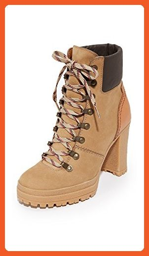 Chloé Eileen Brown Platform Hiking Boots Zr2hhnA27m