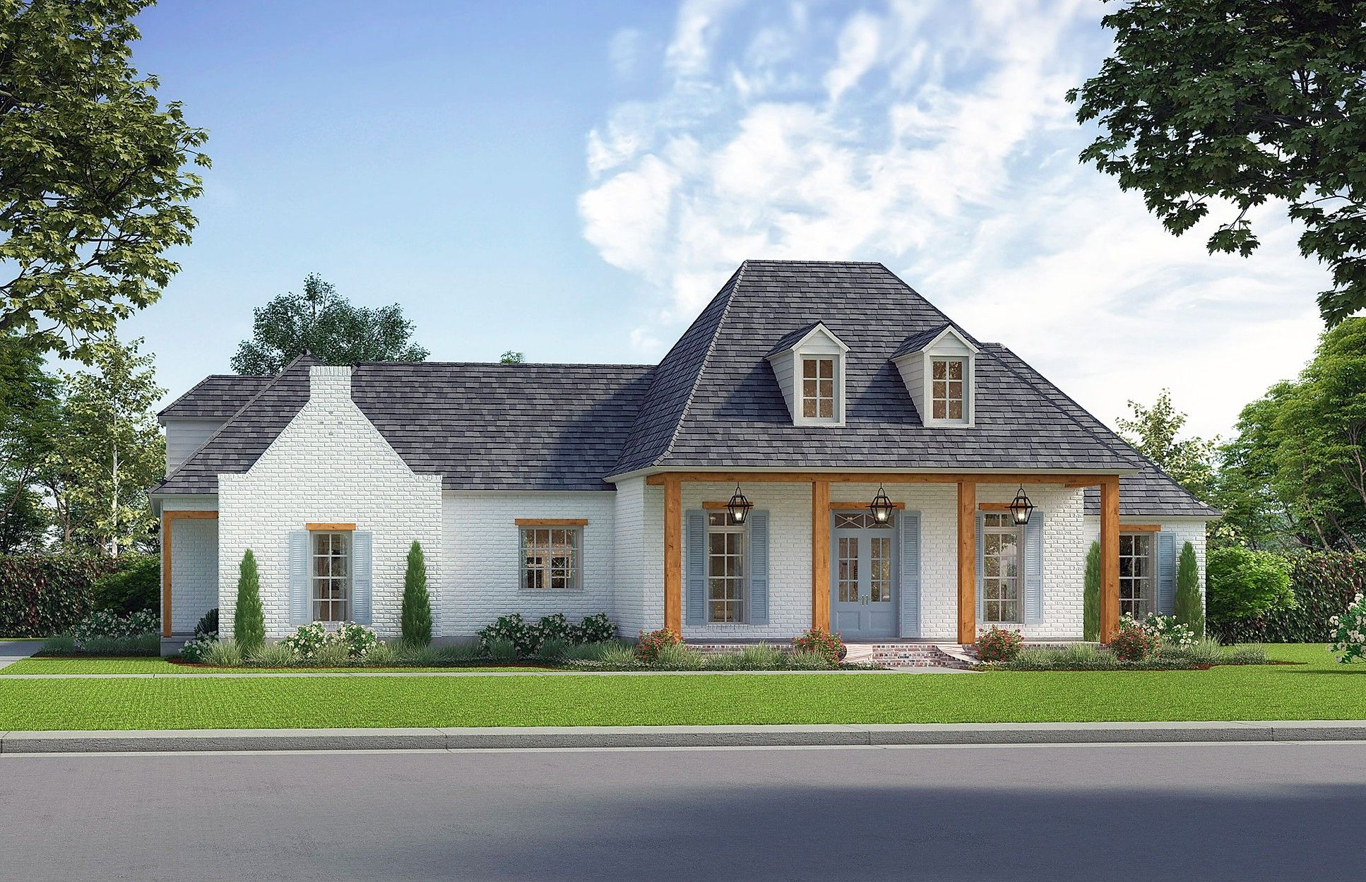 Madden Home Design The Jasmine Country Style House Plans French Country House Plans Madden Home Design