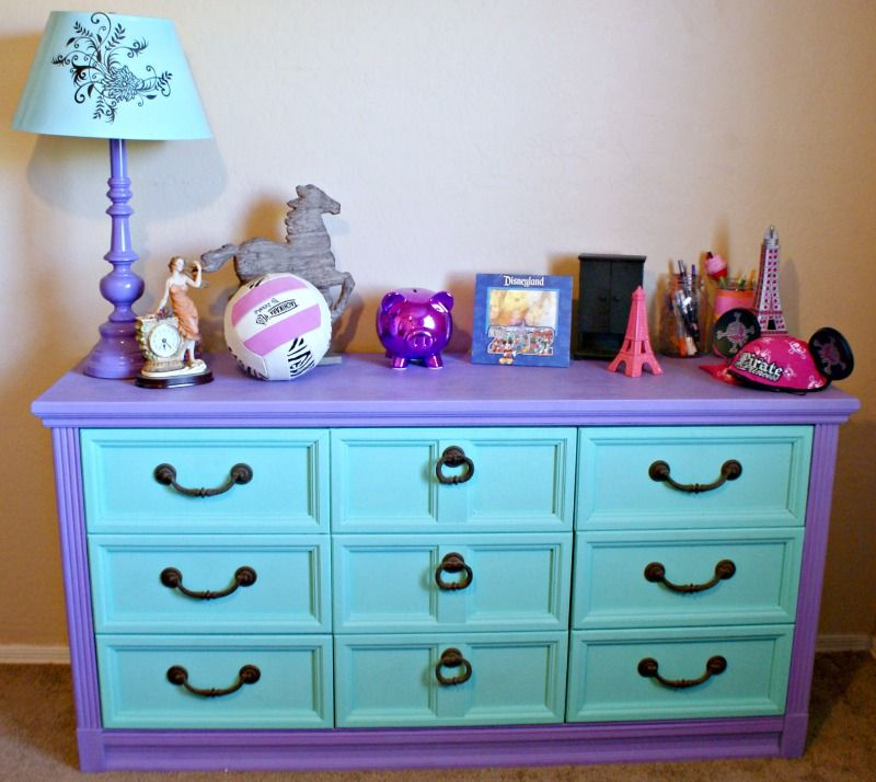 Thrifty Thursday: DIY Dresser Makeover $1 | Möbel