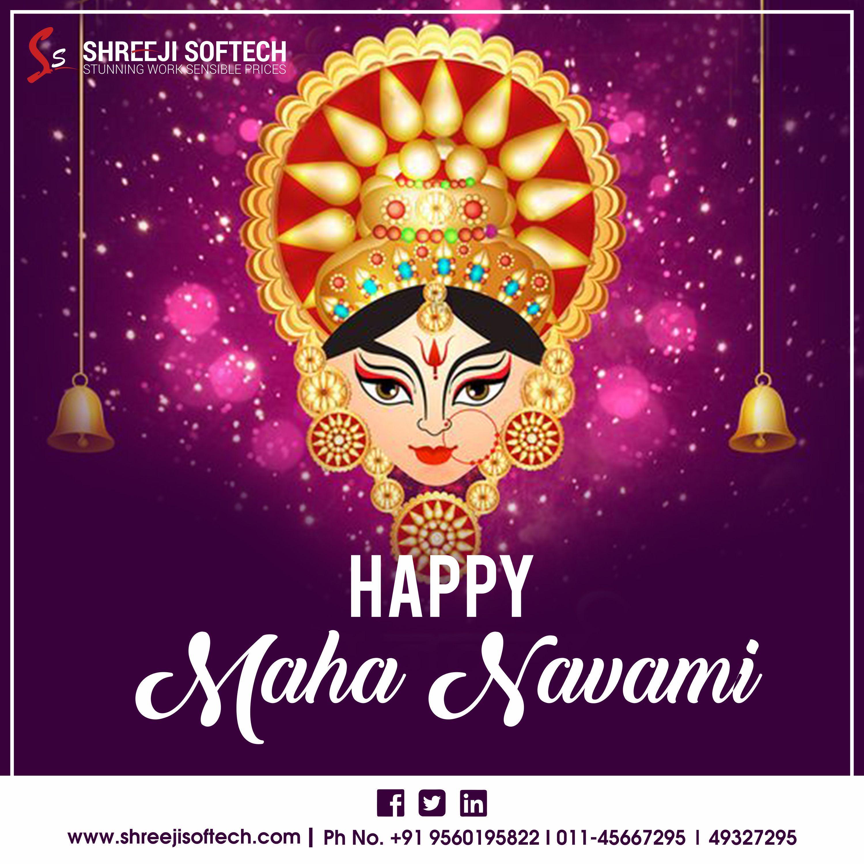 Maha Navami #navratriwishes Best Wishes from team Shreeji Softech for a joyous Navratri with lots joy, happiness, peace and Prosperity... #mahanavami #navaratri #navami #navaratri2019 #navratriwishes