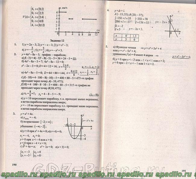 Готовые домашние задания 3 класс по математике а.чекин