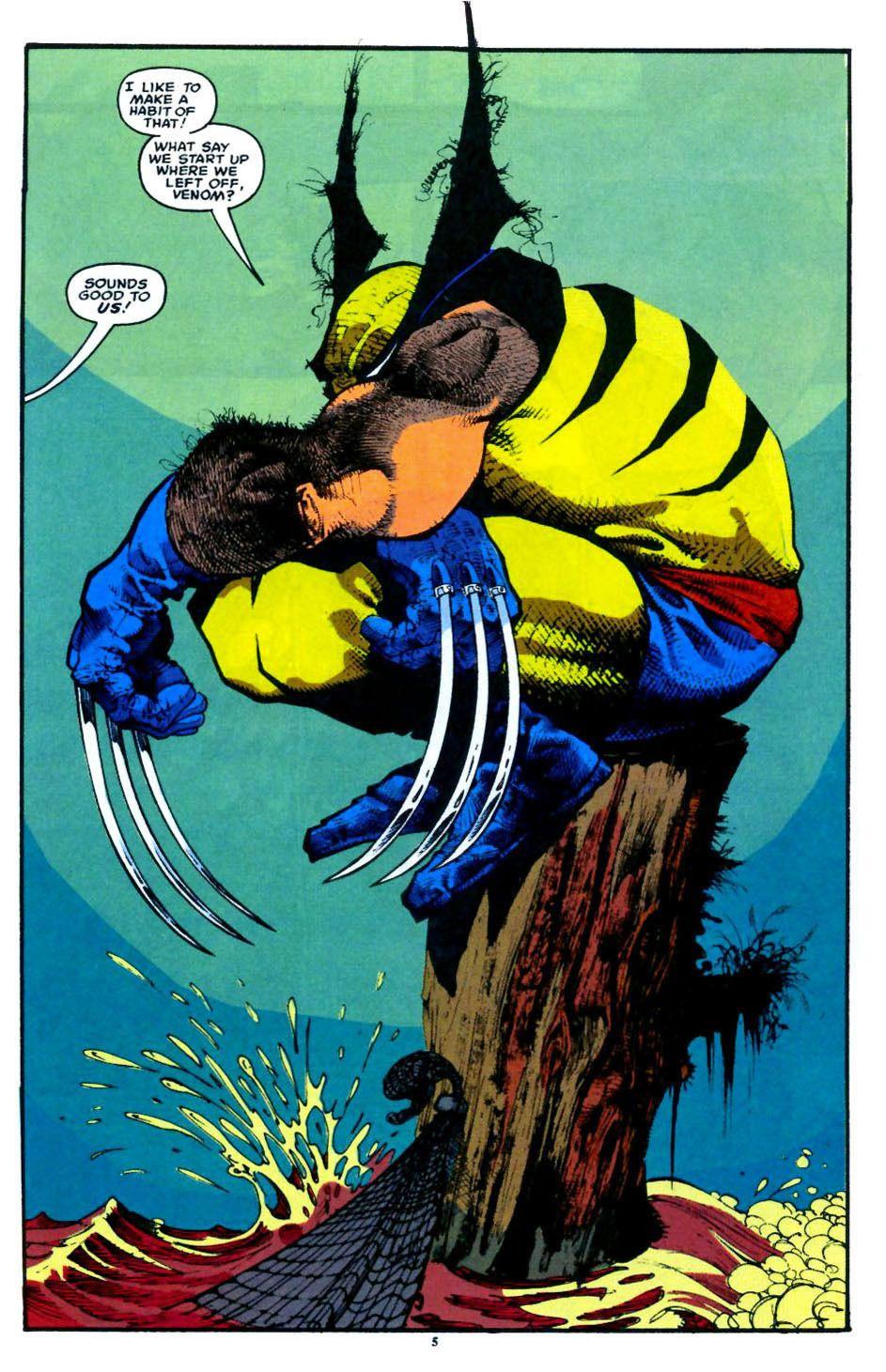 Travisellisor Page 5 From Marvel Comics Presents 1988 119 By Sam Kieth Mike Thomas Howard Mackie Diana Al Wolverine Comic Art Wolverine Comic Comic Art