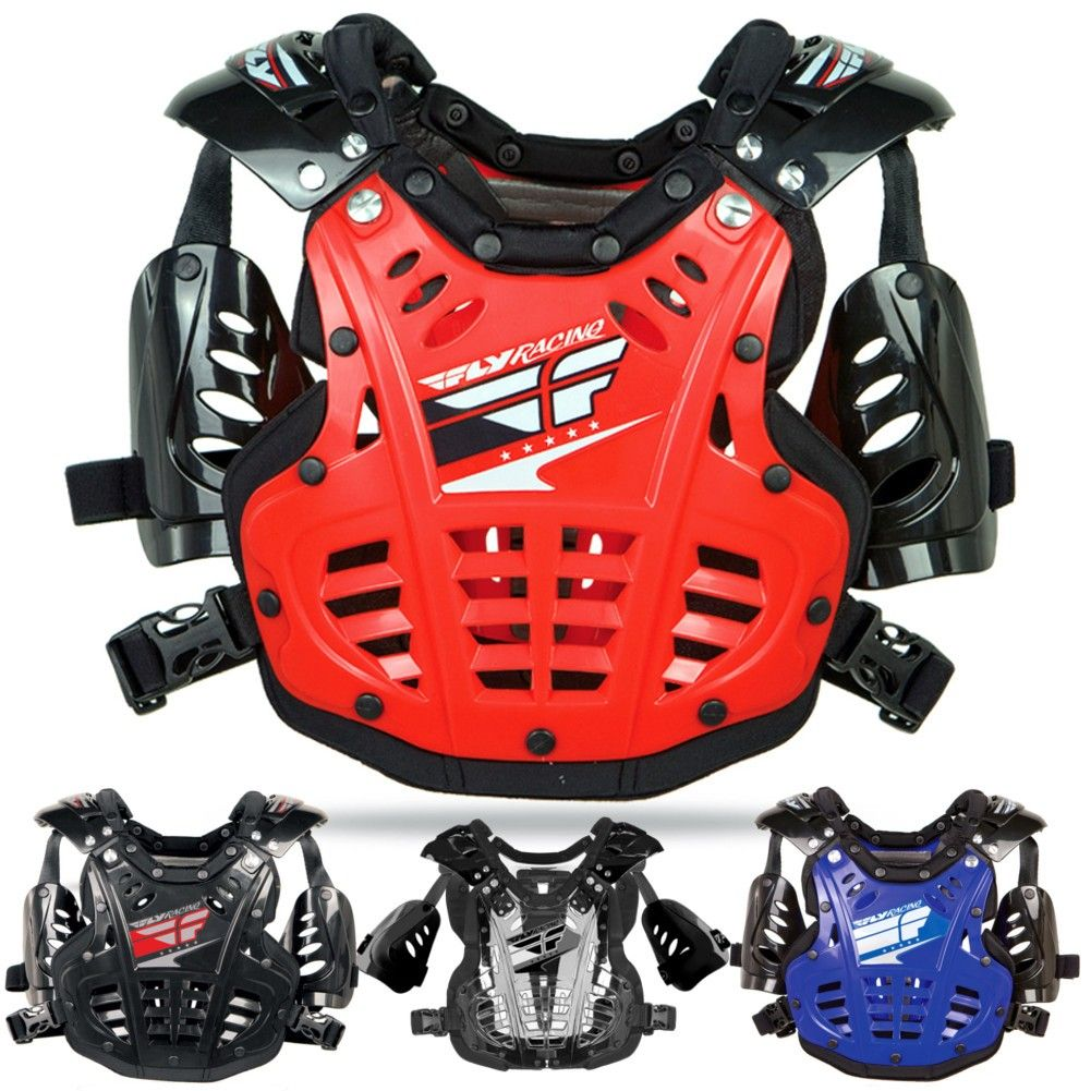 FLY Convertible II Protective Armor Gear Motocross Chest MINI Roost Guards