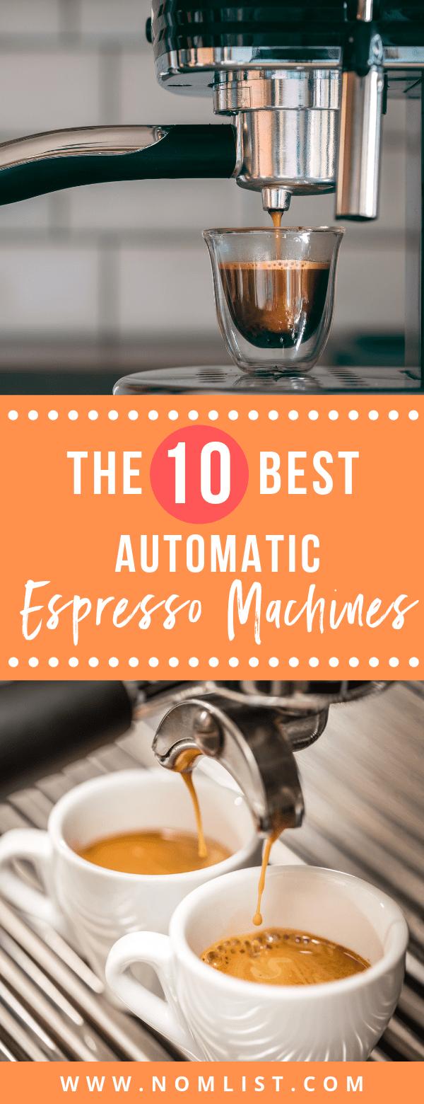 10 Best Automatic Espresso Machine Reviews #espressocoffee