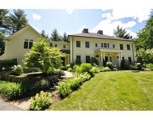 A Grand and Graceful Colonial in Stately Carlisle, MA