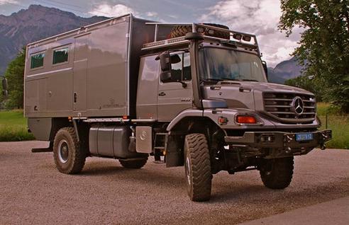 mobile survival mercedes expedition home mobile home. Black Bedroom Furniture Sets. Home Design Ideas