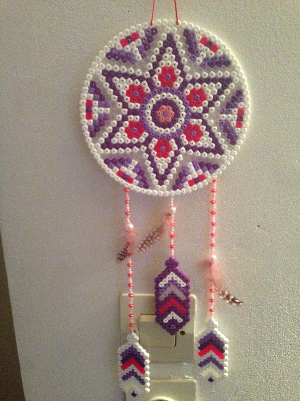 attrape reve perles hama pinterest beads hama beads and perler beads. Black Bedroom Furniture Sets. Home Design Ideas