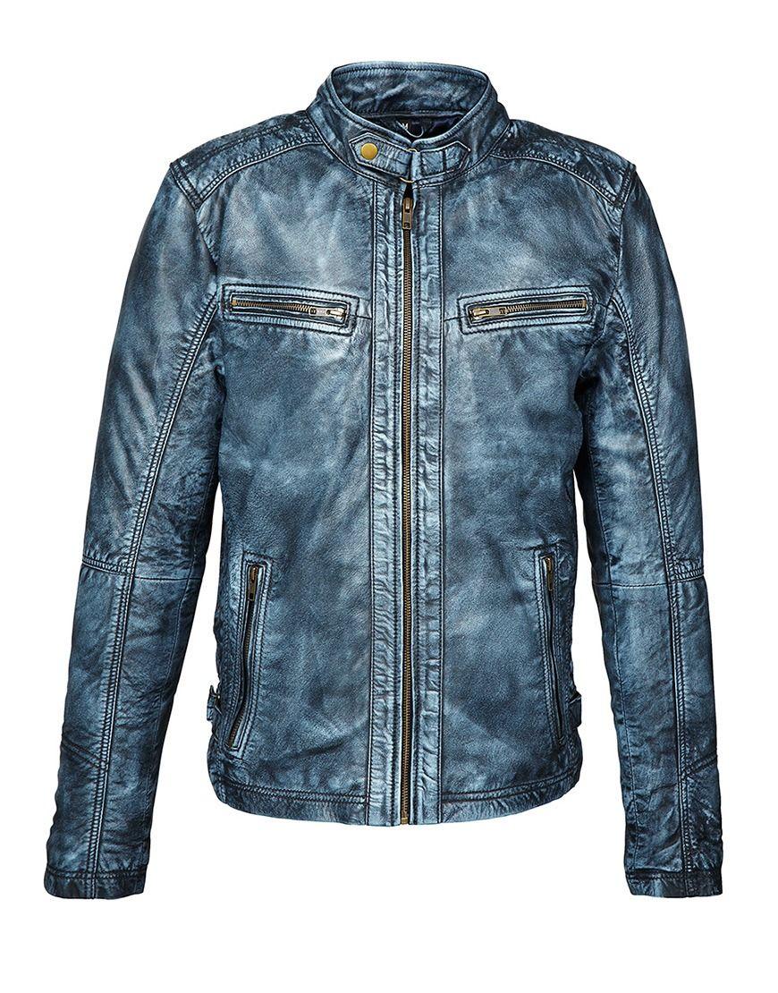 Koop Jas - Leather Jacket Sheep Pear Blue Online op shop.brothersjeans.nl voor slechts € 239,00. Vind 1 ander AIM Wear product op shop.brothersjeans.nl.
