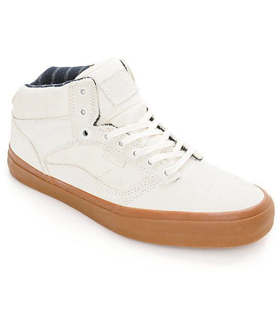 Vans Bedford Marshmallow & Gum Skate Shoes (Mens)