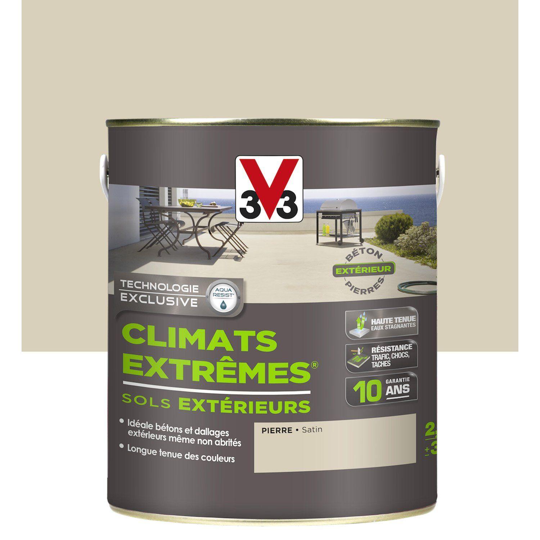 Peinture Sol Extérieur Climats Extrêmes V33 Pierre 25 L