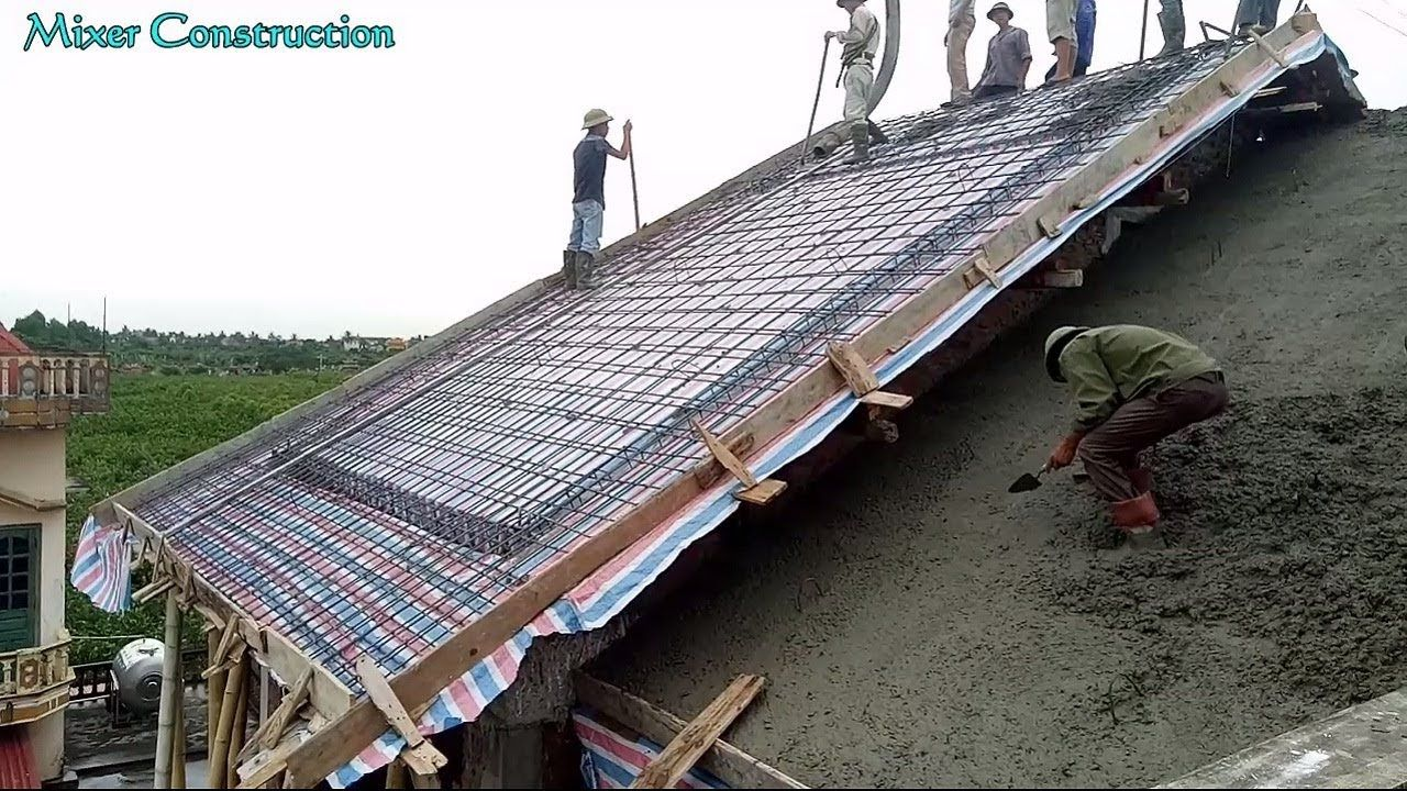 72 Reference Of Roof Concrete Roofing Contractors In 2020 Concrete Roof Roofing Contractors Reinforced Concrete