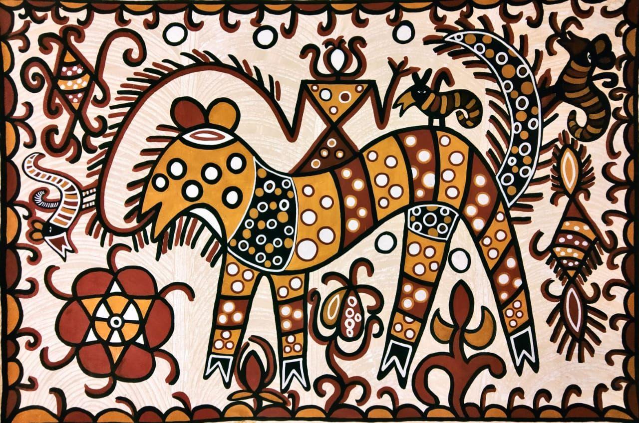 MUST ART GALLERY AN ART UNIVERSE | Art, Folk art painting, Amazing art  painting