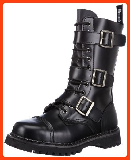 ad720e6d6fa Pleaser Men s Riot-12 Buckle Boot