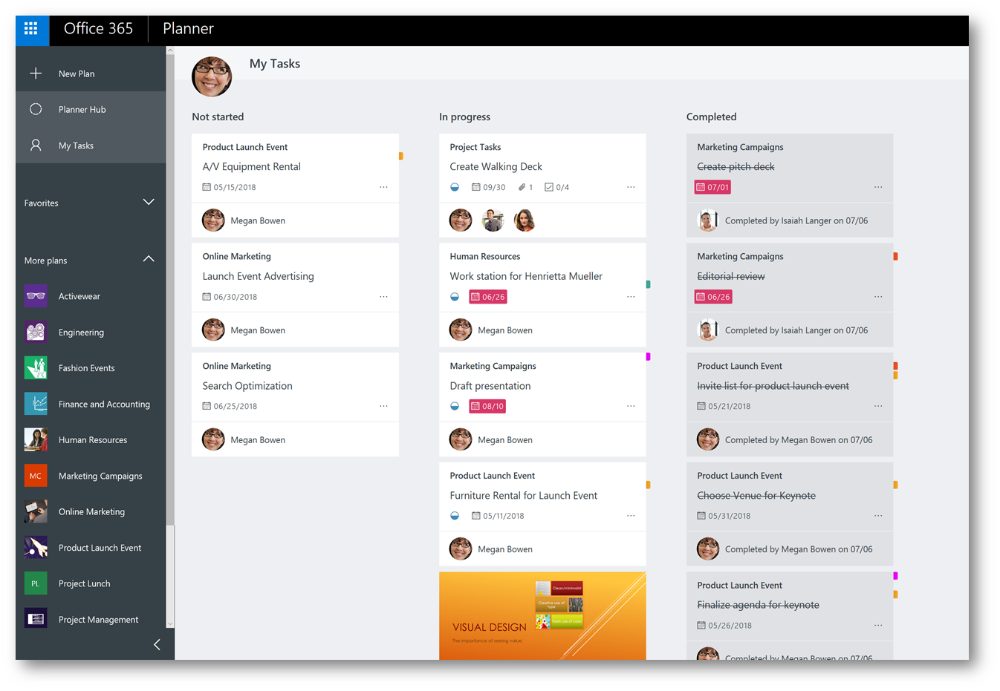 Microsoft Teams Using Planner to stay organized Project