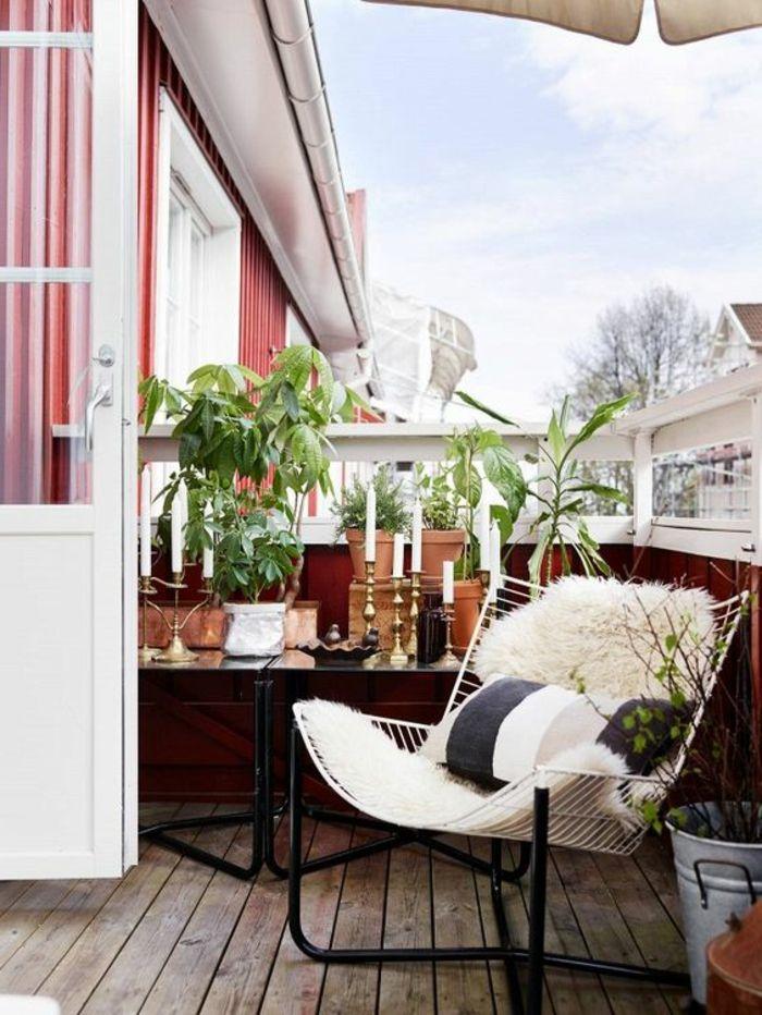Dekoideen Terrasse dekoideen terrasse bequemer sessel auf der terrasse für gute