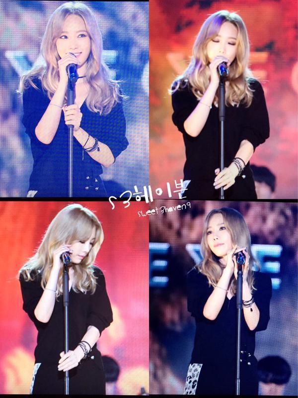 """Sweet3Haven9 on Twitter: """"151009 뮤뱅DDP 태여니 preview 2 http://t.co/JYXT7h1GLd"""""""