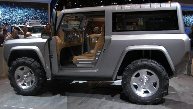 2015 Ford Bronco release