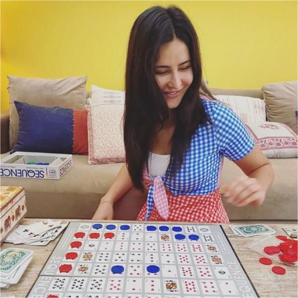 Katrina Kaif dresses up for her playdate in a printed ...