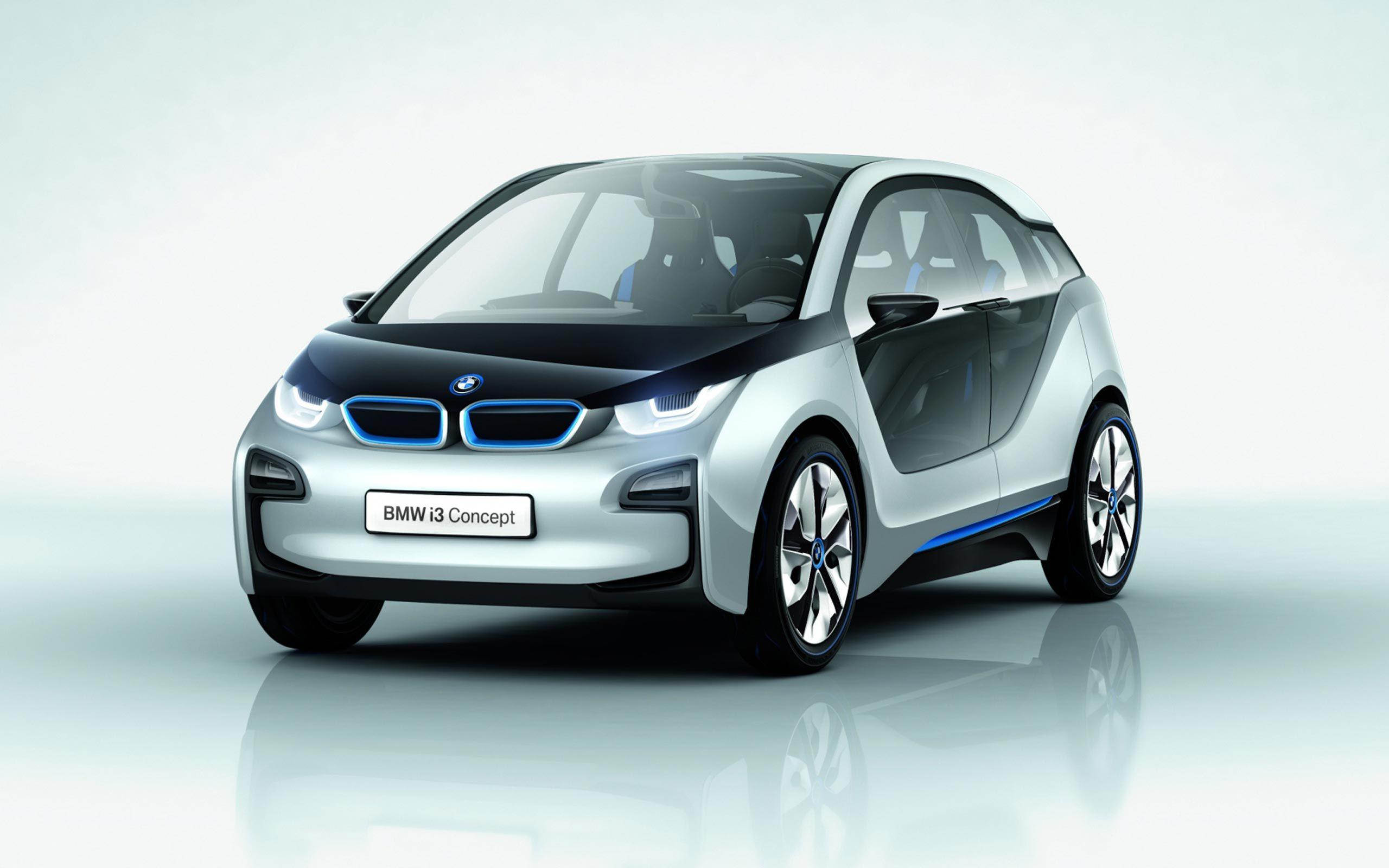 Uno mas eléctrico, menos deportivo pero con un lindo diseño tambien  BMW-i3-concept