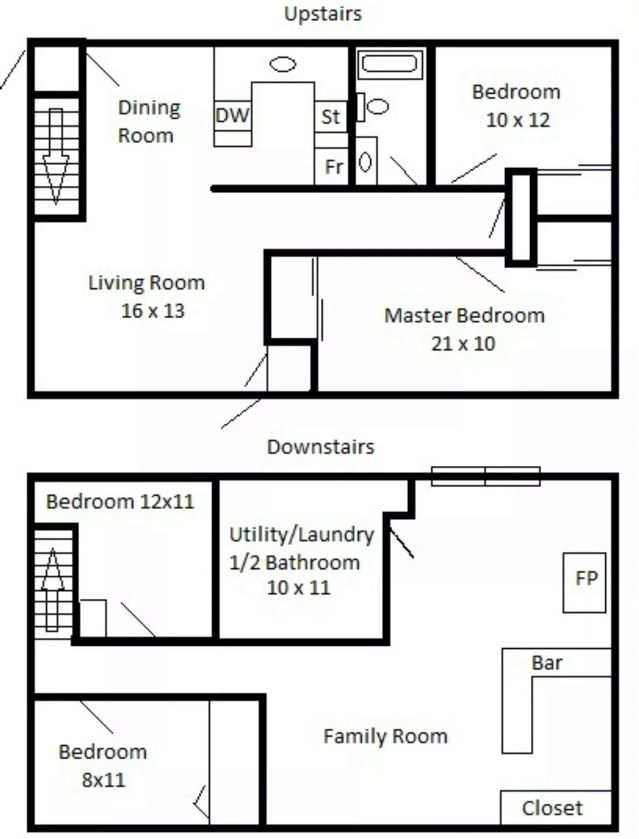 Upstairs Bedroom Image By Emily De Nooy On Floor Plans