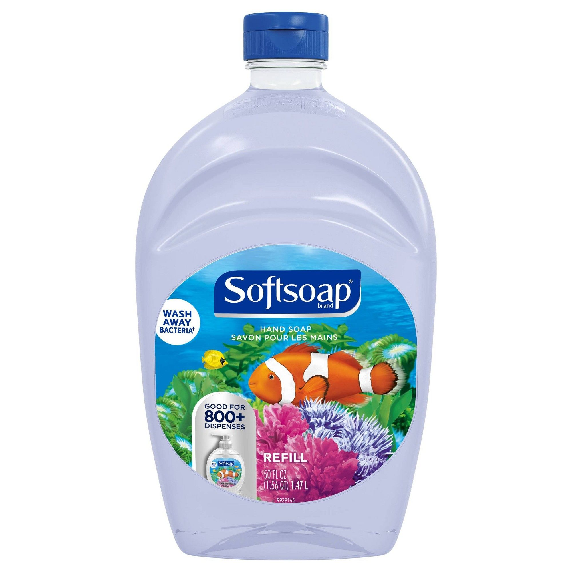 Softsoap Liquid Hand Soap Refill Aquarium Series 50 Fl Oz
