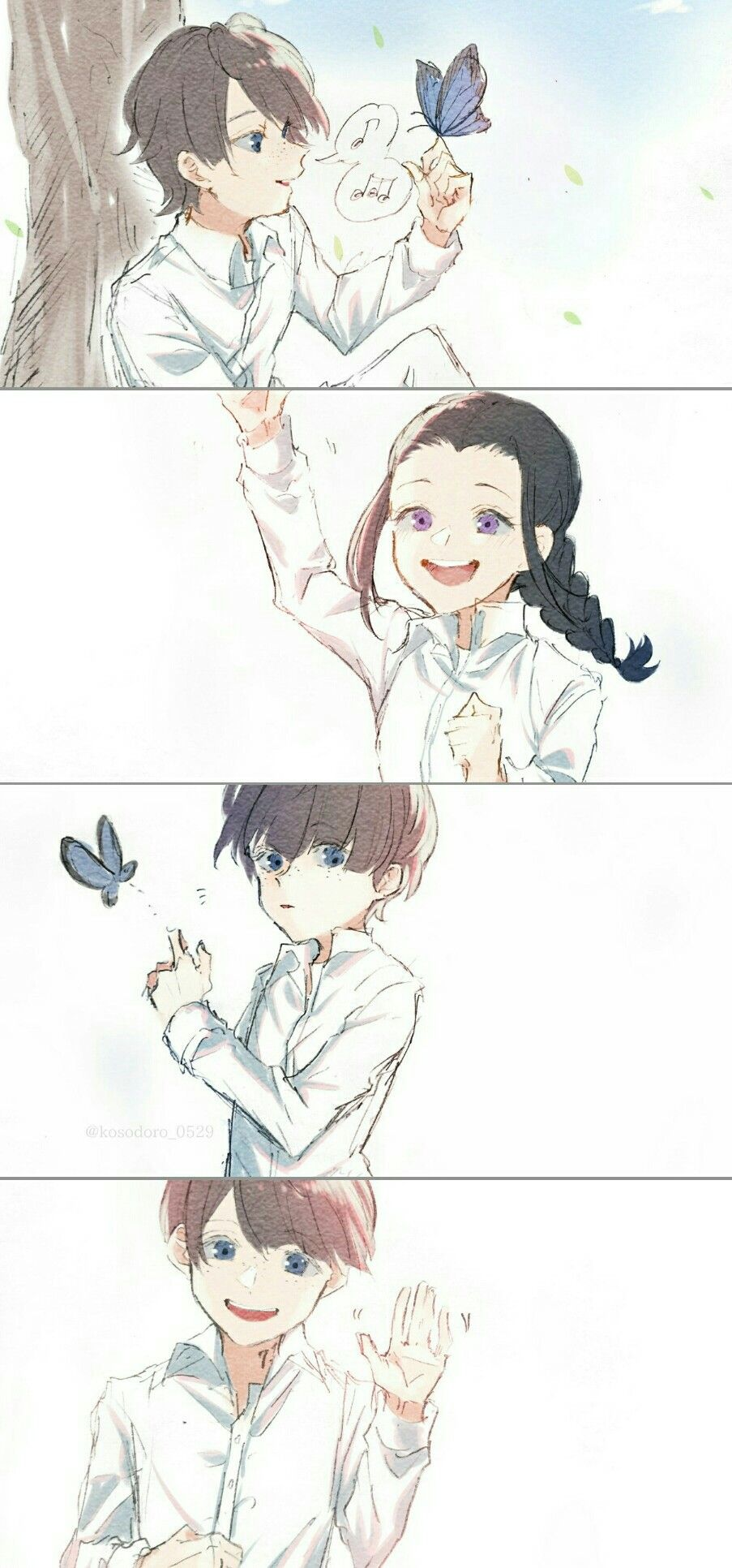 Leslie & Isabella | The Promised Neverland | Anime | Anime