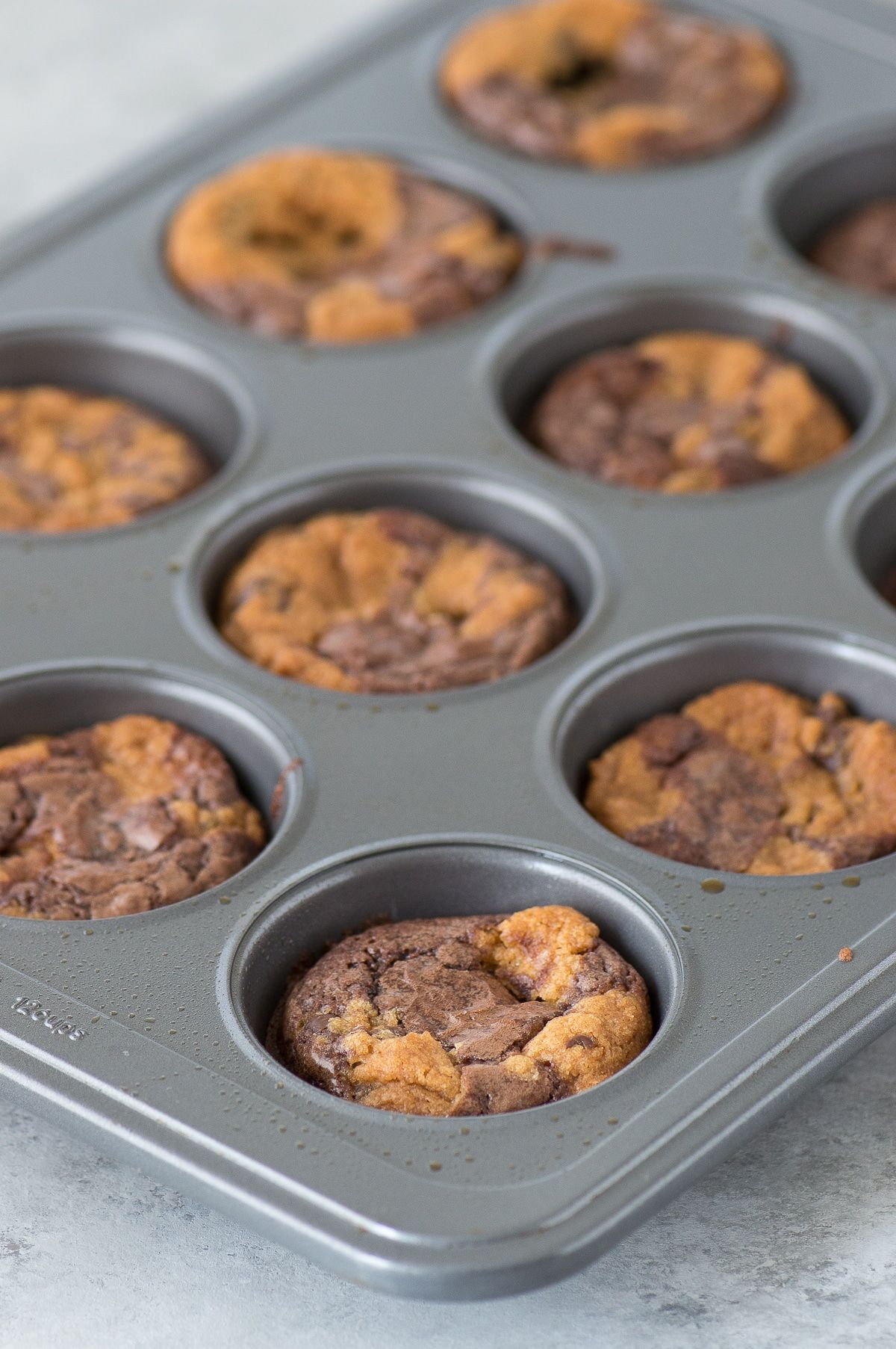 The Easiest Brookie Cups Recipe It S A Brownie And A Cookie