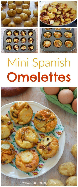 Mini Spanish Omelettes Recipe Food, Omelette recipe