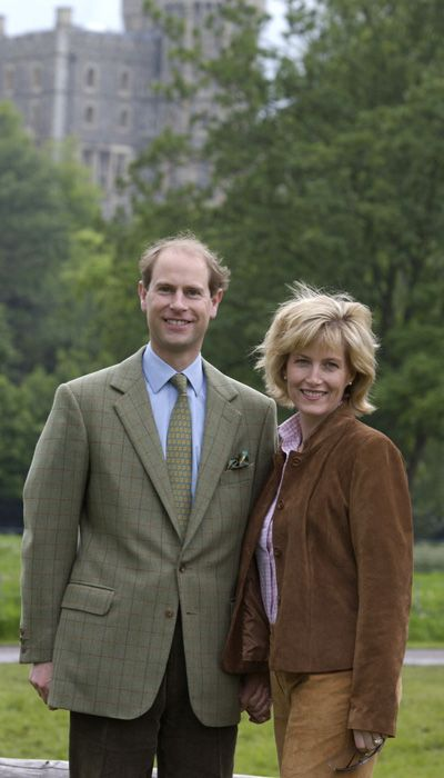 Edward And Sophie The Earl And Countess Of Wessex Lady Louise Windsor Celebrities Prince Edward