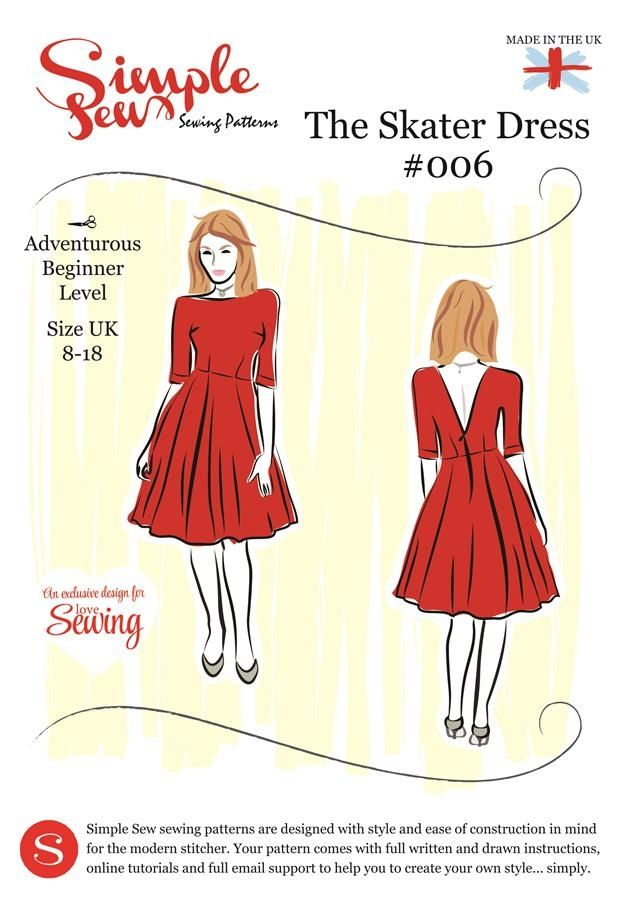 Sew Simple Skater Dress 006 | Sewing | Pinterest | Dress sewing ...