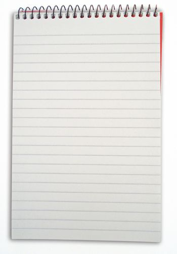 4 lines notebook
