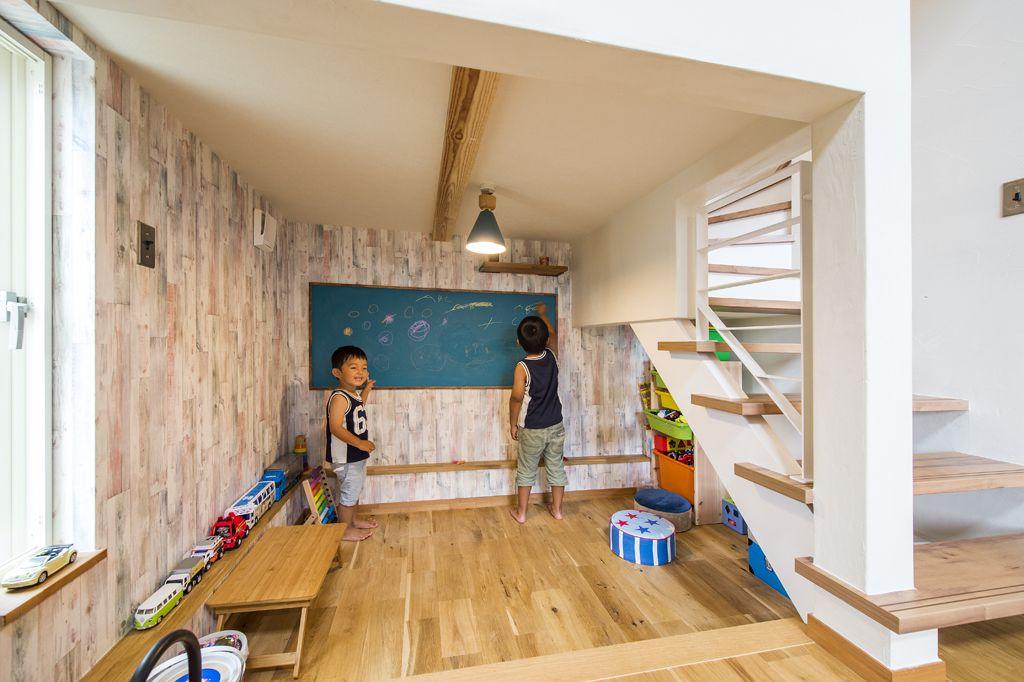 中二階を取り入れた家 北欧スタイル 注文住宅の事例写真 デザイン集 株式会社スペースラボ 家 住宅 部屋 間取り