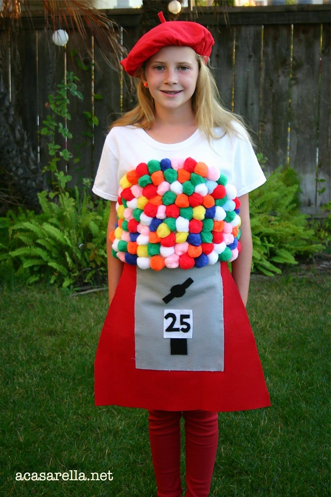 'A Casarella Gumball Machine Halloween Costume