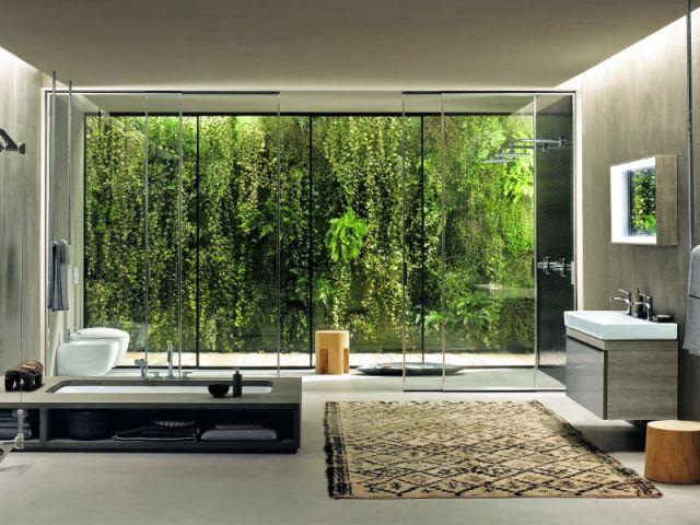 aménager une salle de bains : idées à copier pour une pièce ... - Salle De Bain Ouverte