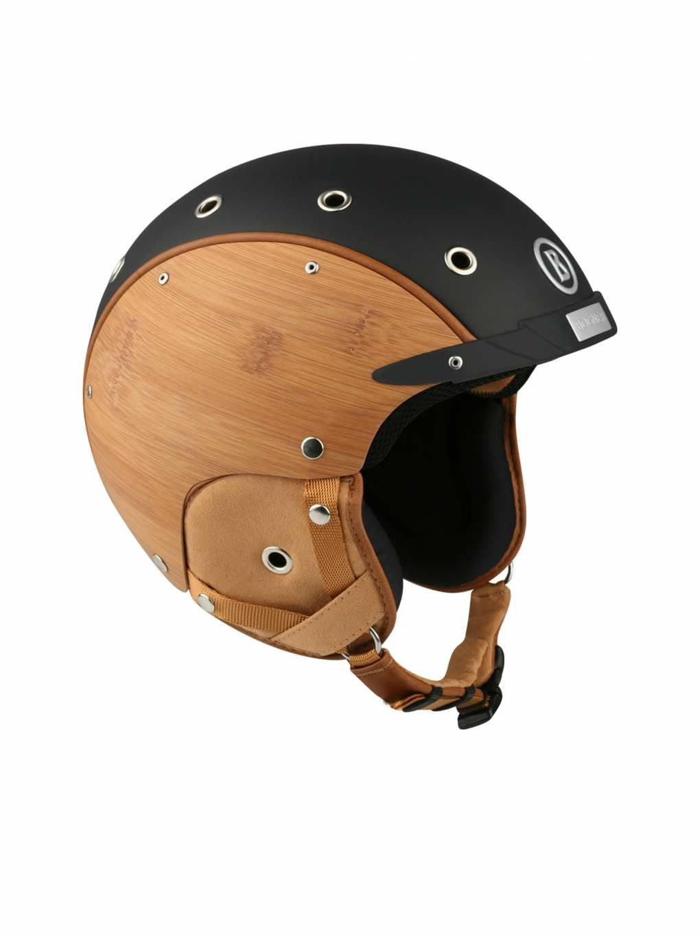 80368c7e2 SKI HELMET BAMBOO in Black for Unisex | BOGNER USA | Ski Fashion ...