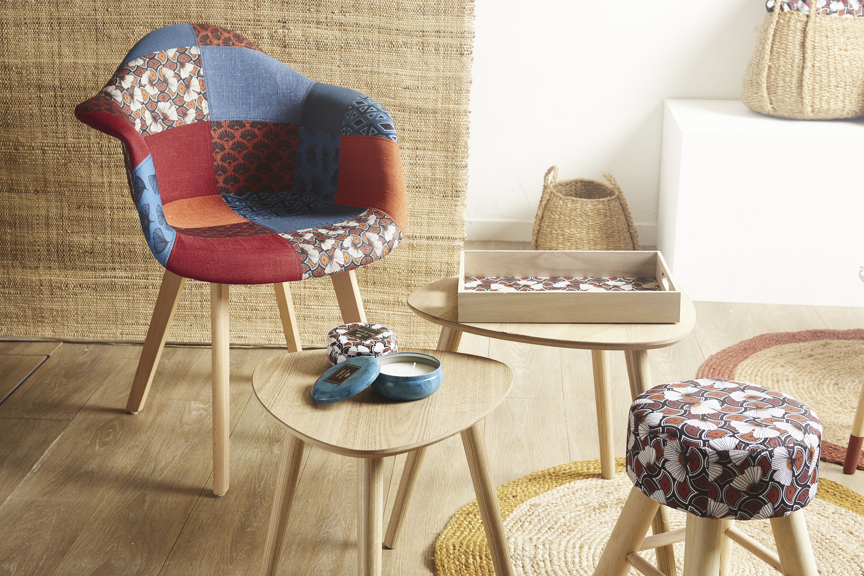 Fauteuil patchwork → Centrakor  Mobilier de salon, Fauteuil