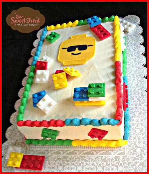 Lego Cake Frosting Lego Birthday Cake Lego Birthday Lego